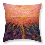 In Far Road Throw Pillow