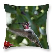 In Flight Meal Throw Pillow