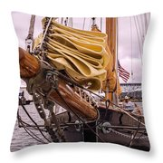 In From Newport Throw Pillow