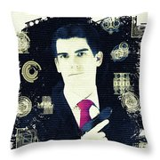 In From The Cold - Spy Throw Pillow