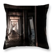 In From The Darkness  Throw Pillow by Kim Loftis