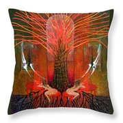 In Garden Throw Pillow