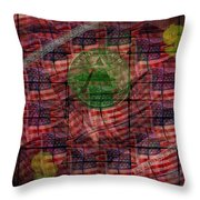 In God We Trust All Others Pay Cash Throw Pillow