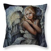 In God's Bright Shadow Throw Pillow