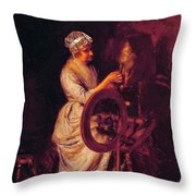 In Grandmothers Time 1876 Throw Pillow