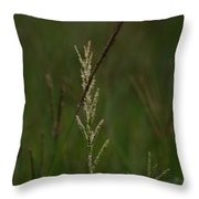 In Green Meadows Throw Pillow