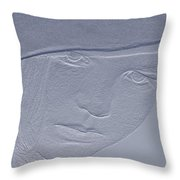 In Her Eyes 2 Throw Pillow
