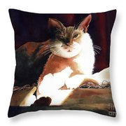 In Her Glory II               Throw Pillow
