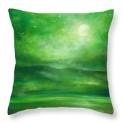In Her Own Presence Throw Pillow