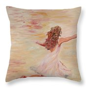 In Him We Live Throw Pillow