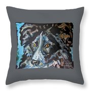In Honor And Love Of Ace Throw Pillow
