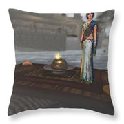 In India Throw Pillow