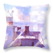 In It's Own Light Throw Pillow