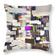 In London Museums 12 Throw Pillow