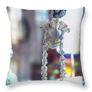 In London Museums 13 Throw Pillow