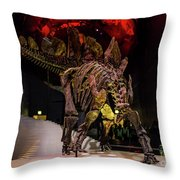 In London Museums 7 Throw Pillow