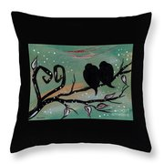 In Love I Wr Throw Pillow