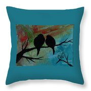 In Love Iv Wr Throw Pillow