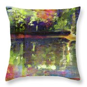In Love With Patterns Throw Pillow