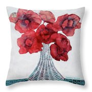 In Madison Throw Pillow