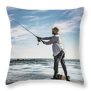 In Meditation Throw Pillow