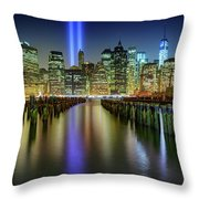 In Memoriam Throw Pillow