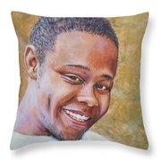In Memory Of A Young Life Throw Pillow