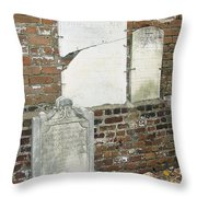 In Memory Of Long Ago Throw Pillow