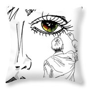 In Memory Of Throw Pillow