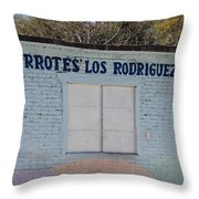 In Mexico Throw Pillow