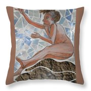 In Mid Air Throw Pillow