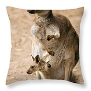 In  Mother's Care Throw Pillow