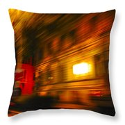 In Motion - 2 Throw Pillow