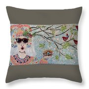 In My Dreams Of Hungary Throw Pillow