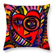 In My Heart Throw Pillow