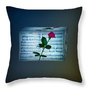 In My Life Cubed Throw Pillow