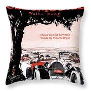In My Merry Oldsmobile Throw Pillow