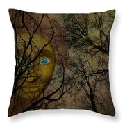 In My Secret Place Throw Pillow