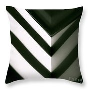 In Or Out Throw Pillow by CML Brown