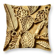 In Ornamental Nature Throw Pillow