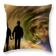 In Our Time Throw Pillow