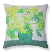 In Pender Island Throw Pillow