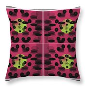 In Perspective Panel Throw Pillow