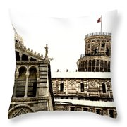 In Pisa Throw Pillow