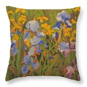 In Praise Of Vincent Throw Pillow