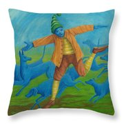 In Pursuit Of Anything. Throw Pillow