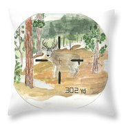 In Range Throw Pillow