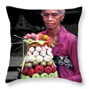 In Repose Throw Pillow