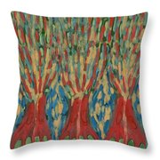In Reversal Throw Pillow