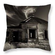 In Ruin Throw Pillow